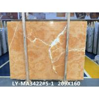 Buy cheap Orange onyx tile and slab For Luxury building interior decoration from wholesalers