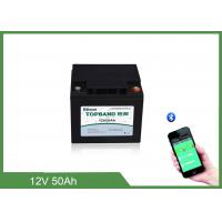 Best Solar Storage Deep CycleLifepo4 Rechargeable Battery 12V 50ah For RV / Camping Cars wholesale