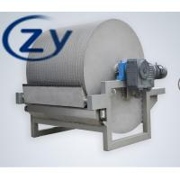 Best Dewatering Potato Starch Machine / Vacuum Filter Machine Low Electrical Energy wholesale