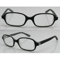 Best Black Hand Made Acetate Optical Rectangle Glasses Frames For Youth Boy wholesale
