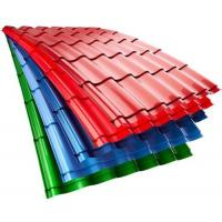 Best SGCC Ageless Color Coated Steel Corrugated Roofing Sheets Galvanized For Steel Prefab House wholesale