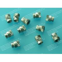 China M3 Stainless Steel Threaded Inserts for Plastics, Sonic-Lok Inserts on sale