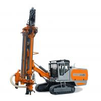 """Best 4"""" / 5"""" Hammer Bits Integrated DTH Drilling Rig With Cab / Dust Collecting Device wholesale"""
