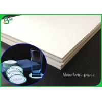 Best 1.4MM Thickness White Absorbent Paper Sheet For Making Hotel Coaster wholesale