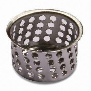 Crumb Cup, Fits 1-3/8 Inches Diameter Drain Openings, Rust-resistant
