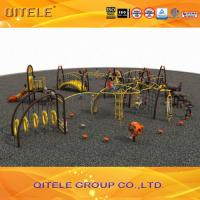 China Professional Kids Outdoor Gym Equipment , Climbing Playground Equipment For School on sale