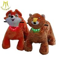 China Hansel   Newest toy 2018 wholesale battery animal electric car for kids for shopping mall on sale
