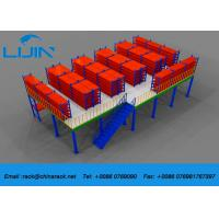 Best Plywood Board Industrial Mezzanine Floors System With Staircase Custom Size wholesale