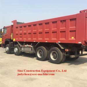 China Ten Wheeler Dump Truck ZZ3257N4347A Max Loading 40 Ton WD615.47 371 Hp on sale