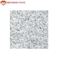 Best Custom Size Sesame White Granite Stone Tiles 0.28% Water Absorption wholesale