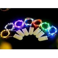Best Multicolor / White Battery Operated LED String Lights , Indoor Fairy Lights wholesale