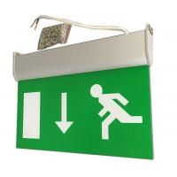 Buy cheap Fire-proof Battery Powered Led Emergency Double-Side Exit Signs from wholesalers