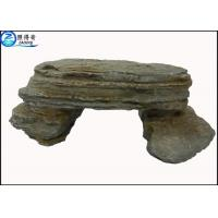 Best Simulation Stone Bench Handmade Non-toxic Resin Ornaments Home Aquarium Accessories wholesale