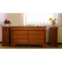 Best China Factory Direct Sale European Style Dresser Totally Solid Wood Bedroom Furniture / Solid Wood Dresser Mirror wholesale