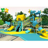 China Cool Commercial Playground Sets High Safety Bright Colors Small Age Kids With Slide on sale