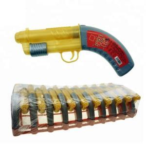 Best Gun Shape Liquid Sprayer Confectionary Sour Sweet Fruit Flavor For Kids wholesale