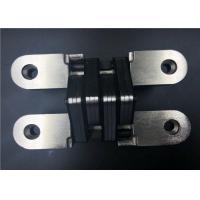 Satin Nickel Nylon SOSS Medium Duty Concealed Hinges / Concealed Door Hinges