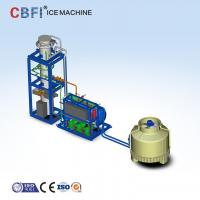 Best 10 Ton Per Day Ice Tube Machine With Freon R22 or R404a Refrigerant 200 - 600V wholesale
