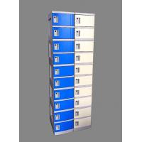 Best 10 Tier Beige / Yellow Charging Station Lockers 2 Layer Cell Phone Charging Lockers wholesale