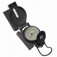 China Aluminum Compass for Military Use, with Double Magnifying Glass on sale