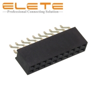 Best 2.54mm Female Header, 20 Position Header Connector Surface Mount, Right Angle Replace to 6101XX24922 wholesale