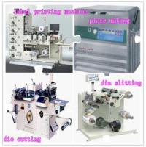 China Unit Type Flexographic Label Making Machine,Label Die Cutiing Machine on sale