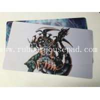 Best Personalized Rubber Play Mat Durable Yu-Gi-Oh Warcraft Trading Card wholesale