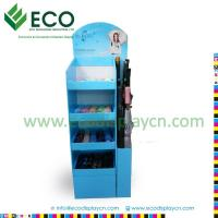 Best Floding Retail Advertising Cardboard Floor Display Stand For Umbrella wholesale