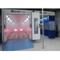 Best Workshop Full Down Draft Infrared Paint Booth Combined Prep Station Energy Saving wholesale
