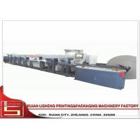 China Automatic Flexo Printing Unit Paperboard Printing Machine with PLC system on sale