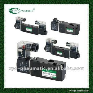 Best 4V Series Pneumatic Directional 3 Position 5 Port Single Control Solenoid Valve Air Valve Pneumatic Valve wholesale