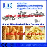 Best High Quality Crispy chips /salad/bugles making machine China supplier wholesale