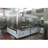Best Fruit Juice Glass Bottle Filling Machine With PLC Control Precision Filling Level wholesale