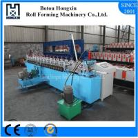 Best Galvanized Plate Shutter Door Roll Forming Machine 180mm Raw Material Width wholesale