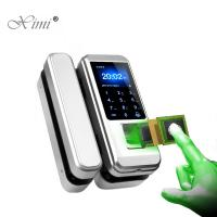 China Standalone Fingerprint Access Control Door Lock For Wooden And Glass Door on sale