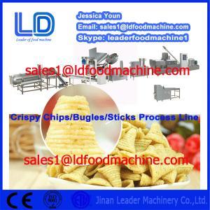 Best Big Capacity Crispy chips /salad/bugles making machinery wholesale