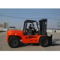 Best 4 wheel Diesel Engine Forklift , Full Automatic Stepless Speed Adjustable Heavy Duty Forklifts wholesale