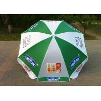 Custom Printing Outdoor Sun Umbrellas UV Protection For Holiday Activities