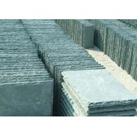 China Anti - Scratch Slate Tiles And Flagstone , Natural Stone Slate Roofing Tiles on sale