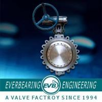 China Bi-Directional Metal Seated Butterfly Valve on sale