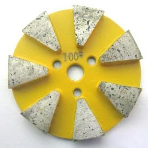 China 7 Seg Straight Edge Metal Polishing Pads on sale