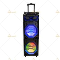 Best Led Disco Light Tweeter Rechargeable Dj Bluetooth Speaker For Karaoke / Dancing wholesale