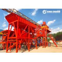 Buy cheap Movable Floating Concrete Batching Plant , YHZS35 Mobile Concrete Mixing Plant from wholesalers