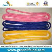 Best Stretchable Long Expanding Coil Spiral Cords Pink/Blue/Yellow Colors wholesale