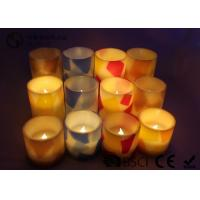 China Remote Control Flameless Candles Led , Flameless Scented Candles No Dripping on sale