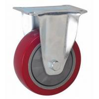 China 100mm service casters PVC wheel on sale