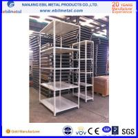 Buy cheap 2-10 layer 50mm pitch steel Slotted Angle Shelf for warehouse storage product