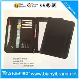 Best A4 cheap zipper document bag hot sale wholesale