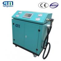 Best R134A / R22 / R410A Refrigerant Charging Machine , PLC Control System Gas Recovery Unit wholesale
