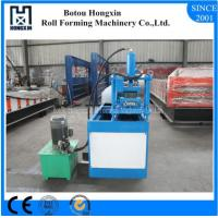 Best Hydraulic Cutting Shutter Door Roll Forming Machine PLC Control System wholesale